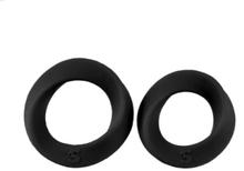 Shots Toys: Endless Cockrings, dubbelpack, svart