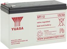 Yuasa 12V 7.0Ah (AGM) batteri 151 x 65 x 98