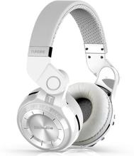 Bluedio T2+ Trådlös Bluetooth Stereo hörlurar / headset VIT