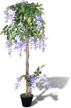 vidaXL Konstgjord Blåregn med Kruka 120 cm