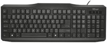 Trust ClassicLine Keyboard ND, Black