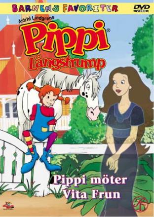 Pippi Långstrump: Pippi Möter Vita Frun (Tecknad)