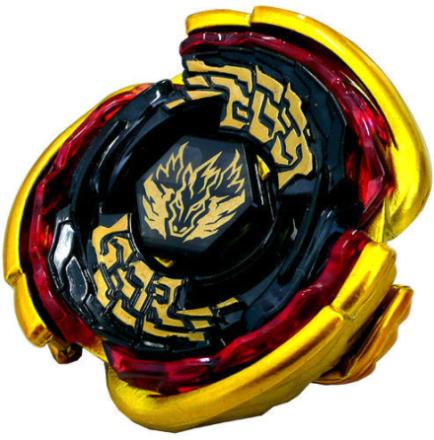 Beyblade Black golden pegasus - Takara Tomy