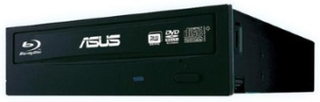 DVD±RW ASUS DVD Recorder 24x SATA Internal Black Nero10 Retail