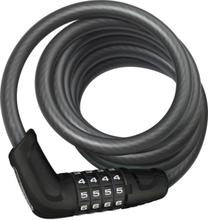 ABUS Tresor 6512C Spiral Cable Lock black 2020 Kombinationslås