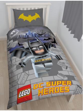 Lego Superheroes Batman Kapow 2i1 Sengetøj - Only4kids