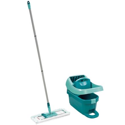 Leifheit Gulvmoppesett med vaskebøtte Profi XL grønn 55096