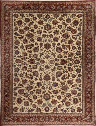 Isfahan Sherkat Farsh teppe 317x421 Persisk Teppe