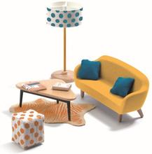 Djeco - The Orange Living Room