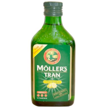 Möller's Tran torskleverolje, 250ml