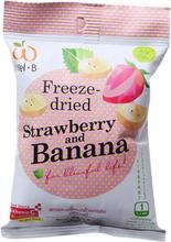 Freezedried Strawberry & Banana, 16 g
