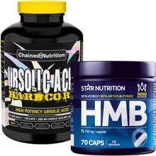 Ursolic Acid Hardcore 150 caps + HMB, 70 caps, 150 caps