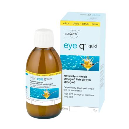 Eye Q, flytende Sitron, 200 ml
