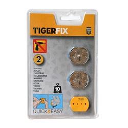 Tiger Bathroom Mounting Accessory TigerFix 2 Metal 398634146