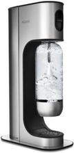 Aqvia Aga Exclusive Black Steel Sodavandsmaskine - Stål