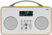 Bærbar radio DAB 240 - Stereo - Sølv