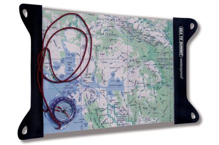 Sea to Summit TPU Guide Small , musta/läpinäkyvä 2018 Kartat