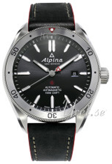 Alpina AL-525BS5AQ6 Alpiner Svart/Läder Ø44 mm
