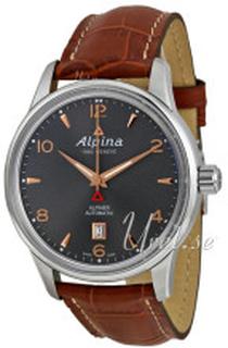 Alpina AL-525VG4E6 Alpiner Grå/Läder Ø41.5 mm