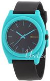Nixon A1192060-00 The Time Teller Svart/Plast Ø36