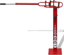vidaXL Manuellt opererad stål rörbockningsmaskin – golvmonterad
