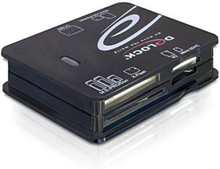 USB 2.0 Minnekortleser SD / SDHC / MicroSD / CF DE-LOCK mm