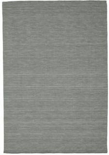 Kelim loom - Mørk grå teppe 220x320 Moderne Teppe
