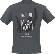 Korn - The Nothing - Overlay -T-skjorte - koksgrå