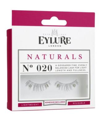 Løse øyenvipper - Svart Eylure Naturals No. 020