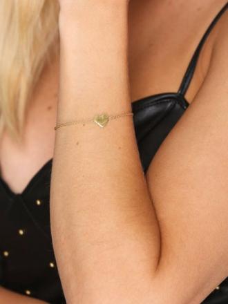 SOPHIE By SOPHIE Heart Bracelet Gull