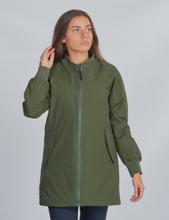 Didriksons, ATEN GS YT JKT, Grön, Jackor/Västar till Tjej, 150 cm
