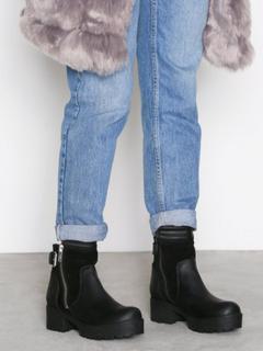 Johnny Bulls Suede Detail Zip Boot