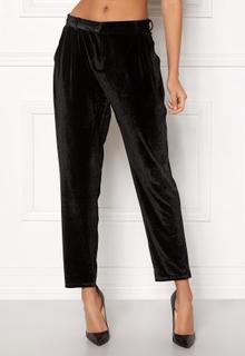 Rut & Circle Adina Velvet Pant Black L
