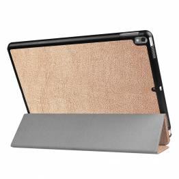 """iPad Pro 10,5"""" cover med bagside og smartcover Guld"""
