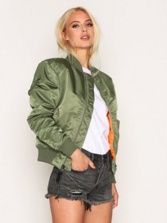 Alpha Industries MA-1 SF Wmn 80's Oversize Green