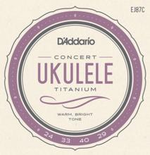 Daddario EJ87C Soprano Ukule String Set