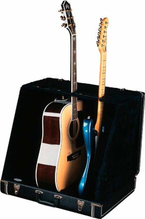 Fender Guitar Case Stand For 3 Guitars (Black)