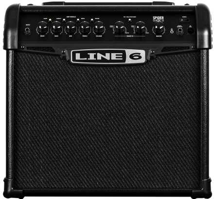 Line6 - Spider Classic 15 - Amplifier For Electric Guitar