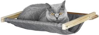 Kerbl vægmonteret hængekøje til katte Tofana 45x40 cm grå 81544
