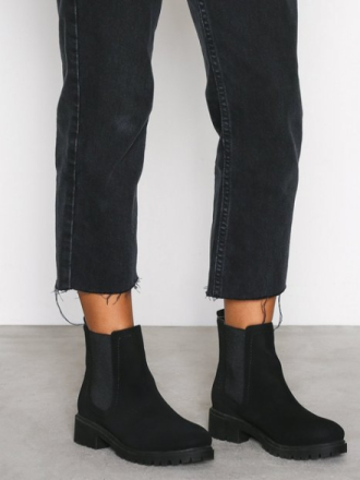 Flat - Svart NLY Shoes Chunky Chelsea Boot