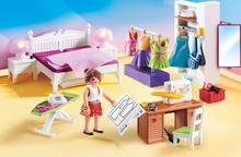 Playmobil Dollhouse - Sovrum med syhörna