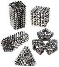Magnetiska bollar att bygga och lära med