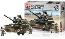 Not specified Sluban Byggblock Army Serie Tank