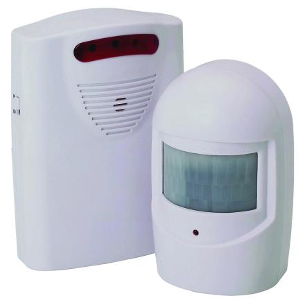 Hyfive oppkjørselen Motion Sensor Alarm hjem sikkerhet enheten Tråd...