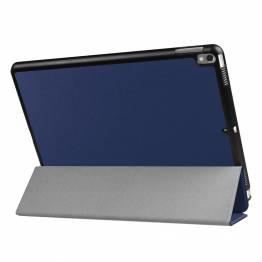 """iPad Pro 10,5"""" cover med bagside og smartcover Blå"""