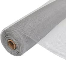 vidaXL Insektsnät aluminium 150x500 cm silver