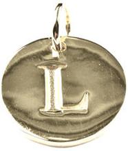 Beloved Letter Silver L, ONESIZE