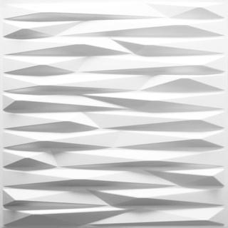 WallArt 3D vægpaneler med ridset design 12 dele GA-WA24