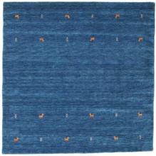 Gabbeh loom Two Lines - Blå matta 200x200 Orientalisk, Kvadratisk Matta