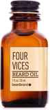Beardbrand Four Vices Skäggolja (30ml)
